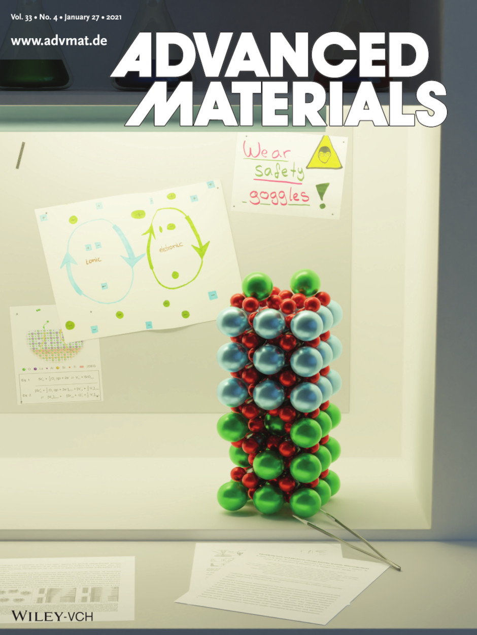 Advanced Materials cover page