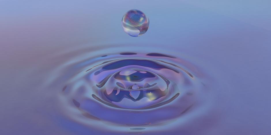 a drop of liquid