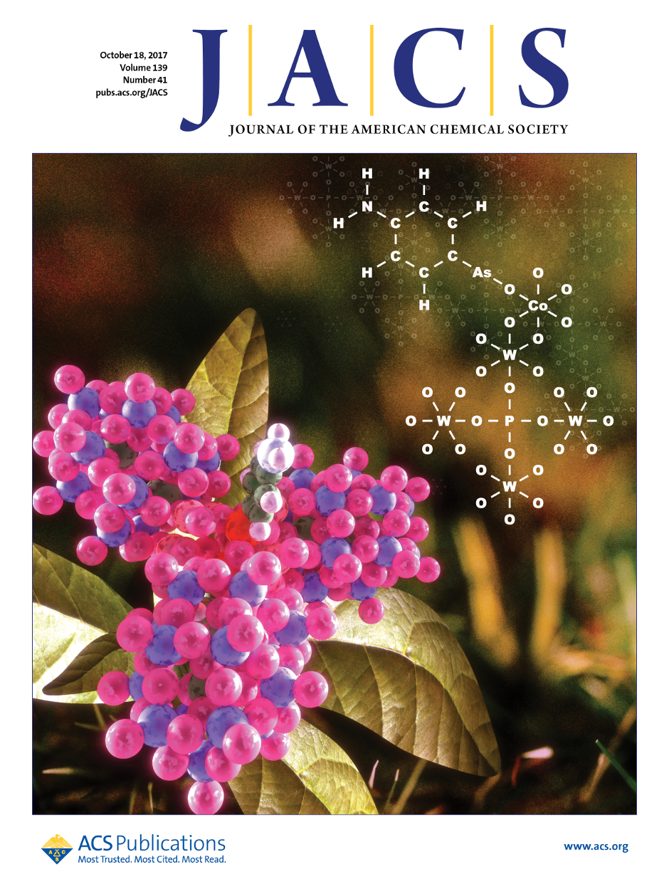 JACS cover page