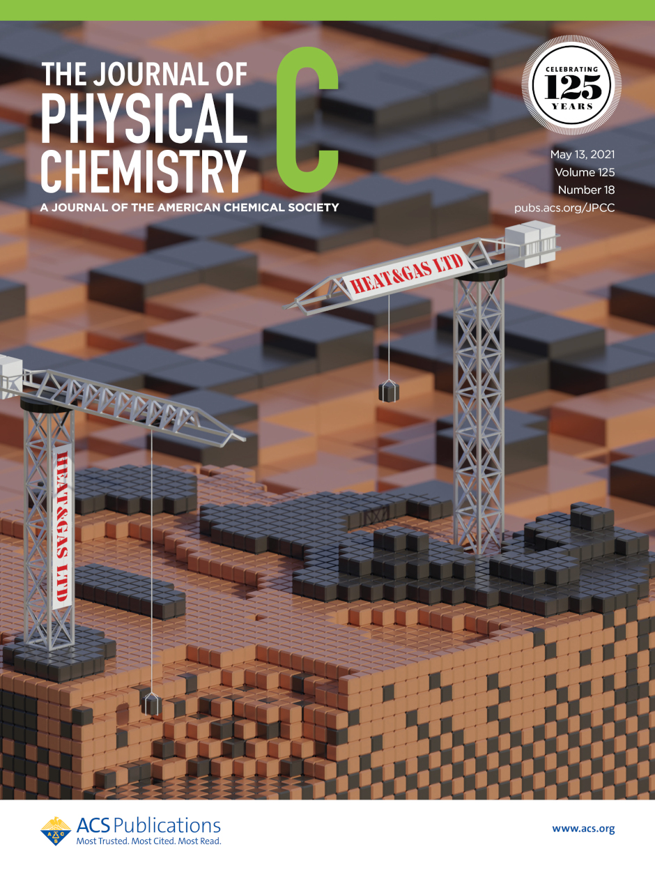 Journal of Physical Chemistry C cover page